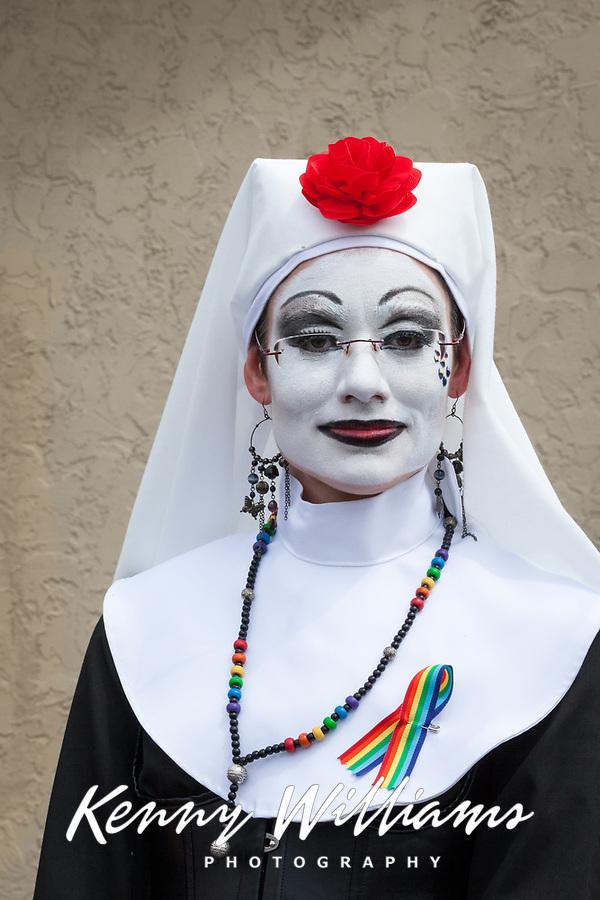 The Sisters Of Perpetual Indulgence, Fremont Solstice Parade & Festival, Seattle, Washington, USA.
