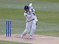 Kent's Joe Denly bats during Kent CCC vs Yorkshire CCC, LV Insurance County Championship Group 3 Cricket at The Spitfire Ground on 16th April 2021