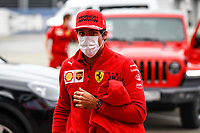 24th September 2021; Sochi, Russia; F1 Grand Prix of Russia free practise sessions; SAINZ Carlspa, Scuderia Ferrari SF21,  during the Formula 1 VTB Russian Grand Prix 2021, 15th round of the 2021 FIA Formula One World Championship, WM, Weltmeisterschaft from September 24 to 26, 2021 on the Sochi Autodrom