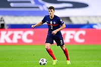 24th March 2021; Stade De France, Saint-Denis, Paris, France. FIFA World Cup 2022 qualification football; France versus Ukraine;  Benjamin Pavard (france)