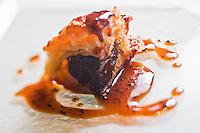 Europe/France/Rhone-Alpes/73/Savoie/Courchevel:  Chausson à la truffe entière au restaurant: La Saulire