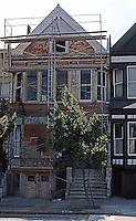 San Francisco: Remodeling a Victorian House--Sacramento St.   Photo '78.
