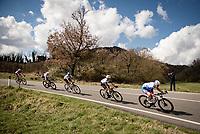 the breakaway group<br /> <br /> Stage 4 from Terni to Prati di Tivo (148km)<br /> <br /> 56th Tirreno-Adriatico 2021 (2.UWT) <br /> <br /> ©kramon