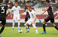 , MEXICO - : Jackson Yueill #6 of the United States moves with the ball during a game between  and undefined at  on ,  in , Mexico.