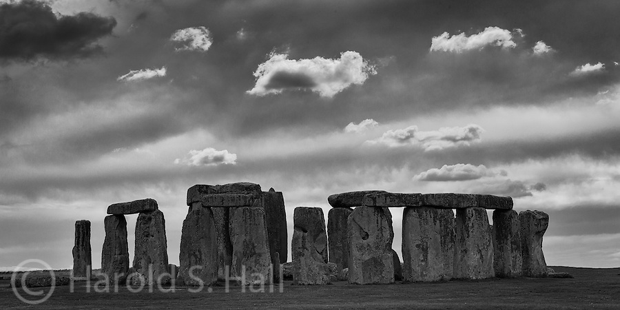 This is the well known prehistoric rocks in Wiltshire England.  The big discussion surrounding the structure is always just how it was built so many years ago.