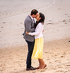 E&M's Dreamy Engagement On The Beach at American Yacht Club