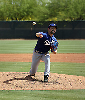 Hyun-Il Choi - Los Angeles Dodgers 2021 spring training (Bill Mitchell)