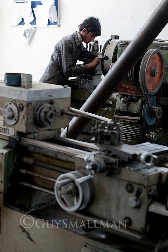 Khan Engineering Plant. Kabul 19-9-10