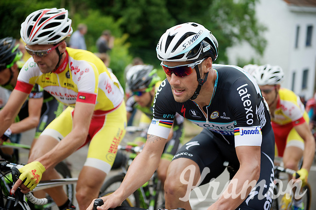 Tom Boonen (BEL/OPQS)<br /> <br /> 2014 Belgium Tour<br /> (final) stage 5: Oreye - Oreye (179km)