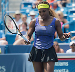 Serena Williams (USA) defeats Flavia Pannetta (ITA) 6-2, 6-2 at the Western & Southern Open in Mason, OH on August 14, 2014.