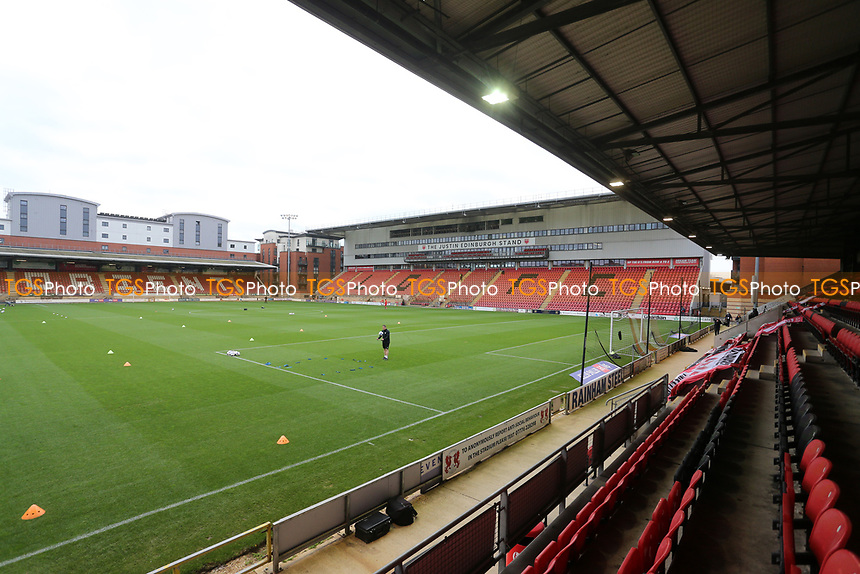 General view of the ground during Leyton Orient vs Harrogate Town, Sky Bet EFL League 2 Football at The Breyer Group Stadium on 21st November 2020