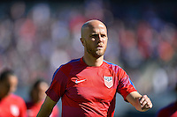 San Diego, CA - Sunday January 29, 2017: Michael Bradley prior to an international friendly between the men's national teams of the United States (USA) and Serbia (SRB) at Qualcomm Stadium.