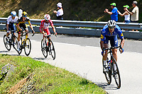 10th July 2021; Carcassonne, France;  CATTANEO Mattia (ITA) of DECEUNINCK - QUICK-STEP during stage 14 of the 108th edition of the 2021 Tour de France cycling race, a stage of 183,7 kms between Carcassonne and Quillan.