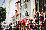Jesus Herrada (ESP) and Cofidis in the peloton during Stage 15 of the 2021 Tour de France, running 191.3km from Ceret to Andorre-La-Vieille, France. 11th July 2021.  <br /> Picture: A.S.O./Pauline Ballet | Cyclefile<br /> <br /> All photos usage must carry mandatory copyright credit (© Cyclefile | A.S.O./Pauline Ballet)