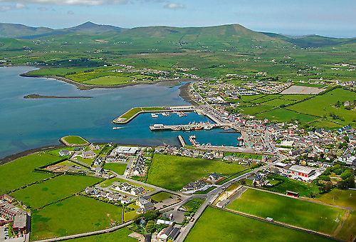 Dingle, the most westerly harbour in Europe was proposed as an America's Cup venue in 2003