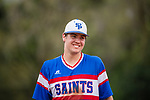 St. Paul's Saints Varsity Baseball, March 12, 2019.  (© Seth Laubinger / Ruby Media)