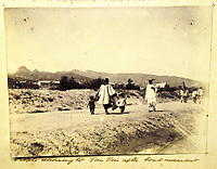 BNPS.co.uk (01202) 558833<br /> Pic: Charles Miller/BNPS<br /> <br /> A picture of locals feature in the album<br /> <br /> A fascinating photo album compiled by a British naval officer on tour in the Far East at the turn of the 20th century has come to light.<br /> <br /> Taprell Dorling served on the HMS Terrible in 1900 at the start of an over 30 year career at sea.<br /> <br /> The album, containing 74 photos, has emerged for sale with auctioneers Charles Miller, of London, with an estimate of £3,000.
