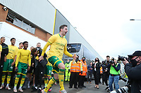 1st May 2021; Carrow Road, Norwich, Norfolk, England, English Football League Championship Football, Norwich versus Reading; Kenny McLean of Norwich City celebrates with fans after winning the EFL championship
