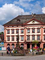 Rathaus von Gengenbach, Ortenaukreis, Baden-Württemberg, Deutschland, Europa<br /> Townhall of Gengenbach, Ortenaukreis, Baden-Wuerttemberg, Germany, Europe