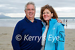 Enjoying a stroll in Banna beach on Sunday, l to r: Rick Earley and Siobhan Walsh from Ardfert