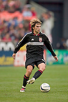 D.C. United's Bobby Convey. DC United defeated the San Jose Earthquakes 2 to 1 during the MLS season opener at RFK Stadium, Washington, DC, on April 3, 2004.