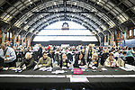 © Joel Goodman - 07973 332324 . 05/05/2017 . Manchester , UK . The count for council and Metro Mayor elections in Greater Manchester at the Manchester Central Convention Centre . Photo credit : Joel Goodman