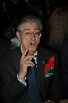 UMBERTO BOSSI<br /> FESTA RIUNIFICAZIONE  A VILLA ALMONE RESIDENZA AMBASCIATORE TEDESCO -  ROMA  OTTOBRE 2008