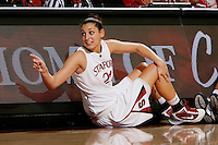 STANFORD, CA - NOVEMBER 8:  Ashley Cimino of the Stanford Cardinal during Stanford's 107-55 win over the UCSD Toreros on November 8, 2009 at Maples Pavilion in Stanford, California.