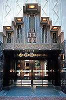 Fort Worth:  Sinclair Building, 1930. Entrance to lobby. Wiley G. Clarkson, Arch.