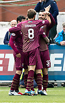 Queen of the South v St Johnstone…18.08.18…  Palmerston    BetFred Cup<br />Tony Watt celebrates his goal<br />Picture by Graeme Hart. <br />Copyright Perthshire Picture Agency<br />Tel: 01738 623350  Mobile: 07990 594431