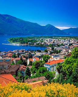 Schweiz, Tessin, Locarno am Lago Maggiore | Switzerland, Ticino, Locarno at Lago Maggiore