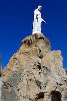 Marienstatue von Notre Dame de la Serra bei Calvi, Korsika, Frankreich