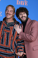 """LOS ANGELES - JUN 10:  Diplo and Dave Burd at the """"Dave"""" Season Two Premiere Screening at the Greek Theater on June 10, 2021 in Los Angeles, CA"""