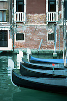 Venice:  #8.  Grand Canal in evening light.  Photo '83.