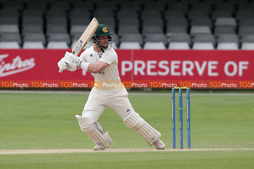 Ben Duckett hits 4 runs for Nottinghamshire during Essex CCC vs Nottinghamshire CCC, LV Insurance County Championship Group 1 Cricket at The Cloudfm County Ground on 6th June 2021