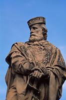 Italien, Umbrien, Garibaldi-Denkmal in Todi