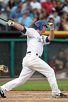 David Cooper #24 of the Las Vegas 51s plays for the Pacific Coast League All-Stars in the annual Triple-A All-Star Game against the International League All-Stars at Spring Mobile Ballpark on July 13, 2011  in Salt Lake City, Utah. The International League won the game, 3-0. Bill Mitchell/Four Seam Images.