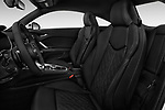 Front seat view of 2018 Audi TT-Coupe  2.0T-quattro-S-tronic 2 Door Coupe front seat car photos