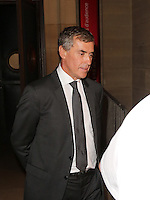 Palais de justice de Paris - Le 05/09/2016 - ProcËs de l'ancien ministre du Budget JÈrÙme Cahuzac, poursuivi pour fraude fiscale. Son ex Èpouse Patricia Cahuzac est Ègalement jugÈe dans ce dossier.