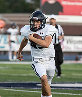 Har-Ber quarterback Matrick Samuel runs withthe ball in the first half of Friday's game At Greenwood.