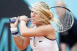 Dominika Cibulkova, Slovenia, during Madrid Open Tennis 2016 match.May, 4, 2016.(ALTERPHOTOS/Acero)