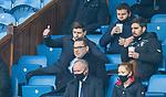 06.03.2021 Rangers v St Mirren: Thumbs up from Steven Gerrard as Rangers go 3-0 up