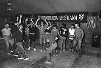 - DC (Democrazia Cristiana), festa dell'Amicizia a Udine, 1977....- DC (Christian Democratic Party) Fest of the Friendship in Udine, 1977