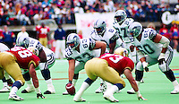 John Earle Guy Earle Tracy Ham Baltimore Stallions 1994. Photo John Bradley