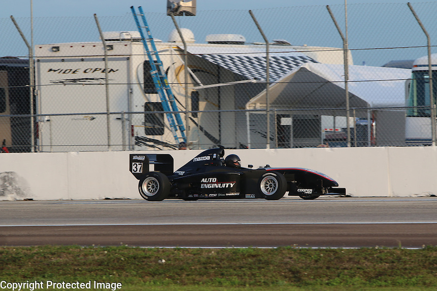 28-30 March, 2014, St Petersburg, Florida USA<br /> (Driver Name and Info)<br /> ©2014, Brian Cleary<br /> LAT Photo USA