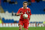 International Friendly match between Wales and Scotland at the new Cardiff City Stadium : Sam Ricketts of Wales.