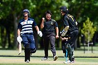 Action between Otago Boys High School and CS Wellington College during the Gillette Cup Finals, Hagley Park, Christchurch, New Zealand. 5th December 2019. Photo: John Davidson, www.bwmedia.co.nz