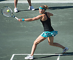 Lucie Safarova (CZE) loses to Andrea Petkovic (GER) 6-3, 1-6, 6-1 at the Family Circle Cup in Charleston, South Carolina on April 4, 2014.