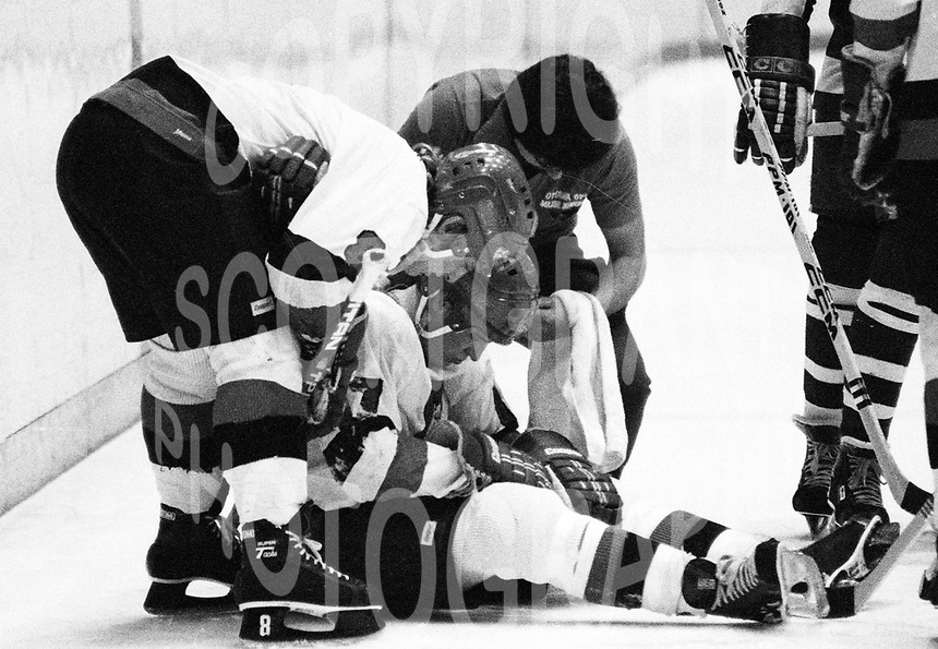 Kevin Konings Ottawa 67's 1981. Photo Scott Grant