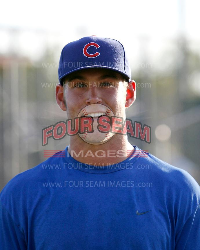 Brett Jackson - Chicago Cubs - 2009 Arizona League.Photo by:  Bill Mitchell/Four Seam Images